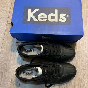 Women's New with Box Black Keds, Size 6.5